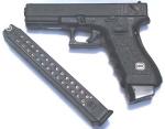 全自动型号的格洛克手枪