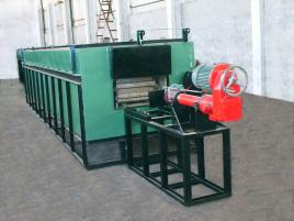 液压缸结构形式为拉杆缸结构,有利于缸的检修和更换密封件.图片