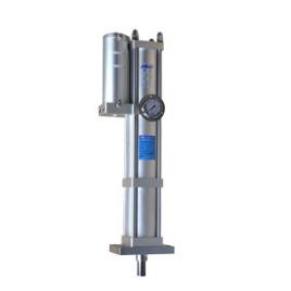 气动是能将输入压力变换,以较高压力输出的液压元件.图片