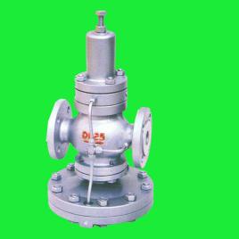 减压阀出厂时,调节弹簧处于未压缩状态,此时主阀瓣和付阀瓣处于关闭图片