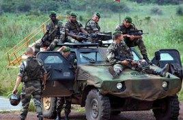 1945年:改编为第3外籍步兵团.1946年:参加法越战争.