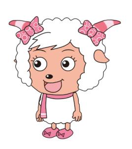 美羊羊图片简笔画高清 羊图片简笔画 羊放鞭炮简笔画