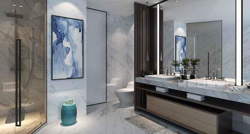 新中式 卫生间图片