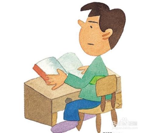 看书或是使用电脑的时候,要保持端正的坐姿,眼睛与书或电脑至少保持三图片