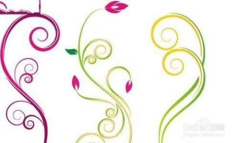 漂亮的手抄报花边纹样设计图片
