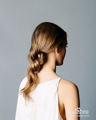 伴娘发型编发图片