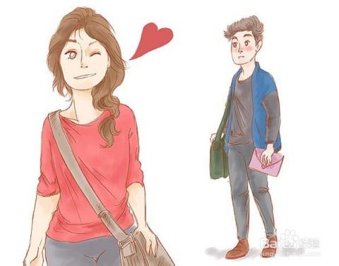 作为一个女孩,如何向自己喜欢的人表白?图片