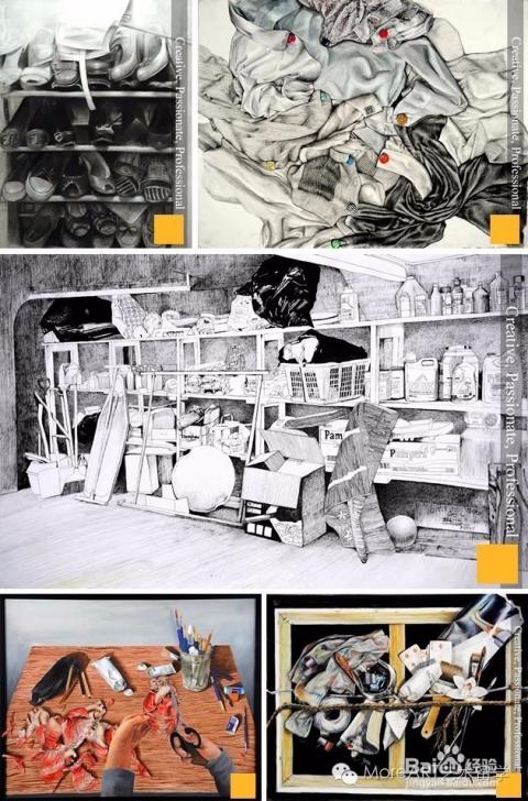 艺术留学作品集如何体现艺术技能和经验图片