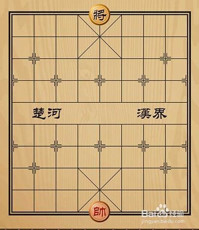 中国象棋开局棋子如何摆放图片