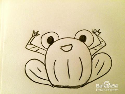 教你画简笔画之青蛙图片