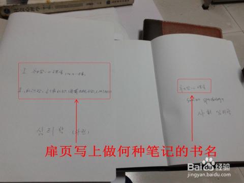 如何做好自己的读书学习笔记图片