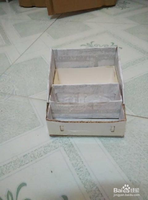 自制最简单的化妆品收纳盒,变废为宝_手工艺_百度经验图片