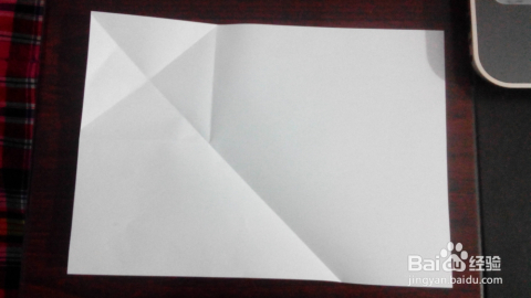 漂亮的秋叶信纸折法图片