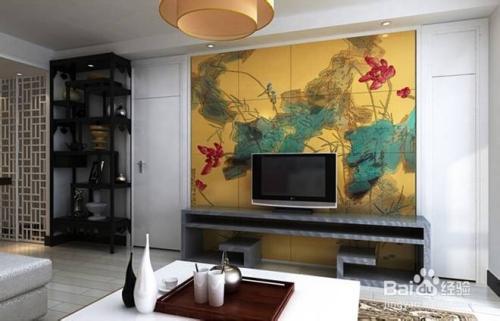最流行电视瓷砖背景墙装修效果图大全