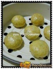 怎样做蒸紫薯包