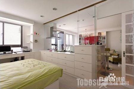 2013最新卧室玻璃隔断门效果图
