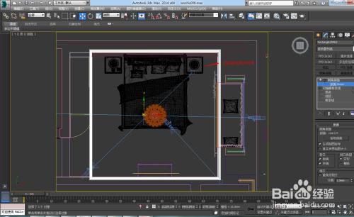 """用3dmax中的""""倒角剖面""""命令制作石膏线模型图片"""