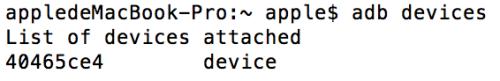在Mac pro上如何配置adb命令?