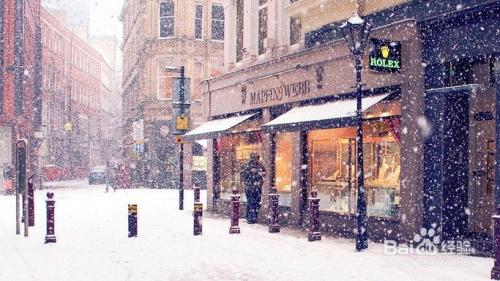 广州下雪了,你做好准备了没?图片