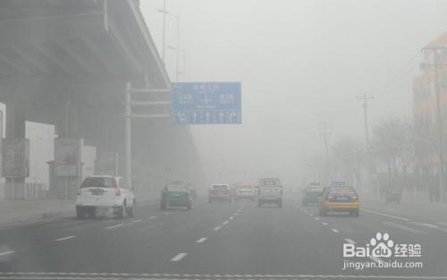 雾霾天怎样预防雾霾的危害图片