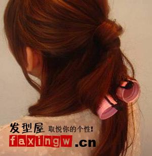 怎样打造简单又漂亮的公主头发型