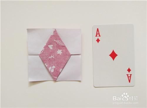 扑克牌共有几种花色_折纸----如何折扑克牌花色之方片,红桃?
