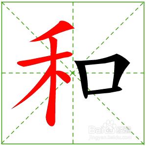 汉字笔画的书写顺序的一般规则