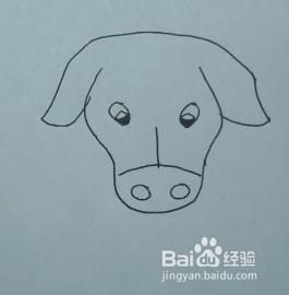 教你画黄牛牛头的简笔画