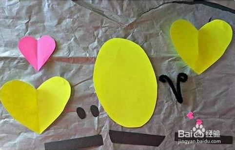 彩纸小蜜蜂的手工制作方法