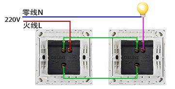 单控开关和双控开关的区别的安装方法