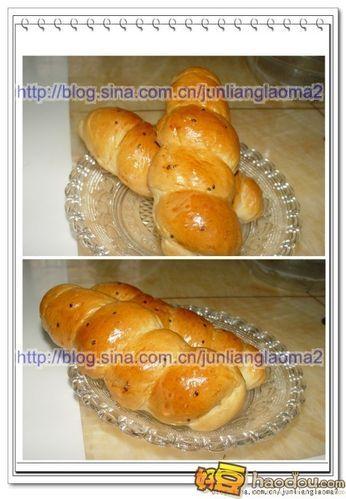 怎样做海螺面包?图片