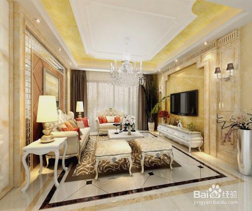 室内设计简约欧式风格的特点是什么?图片