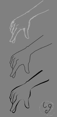 基础绘制 1 选择画笔,按住shift 左键拖动可以绘制垂直或平行的直线.图片