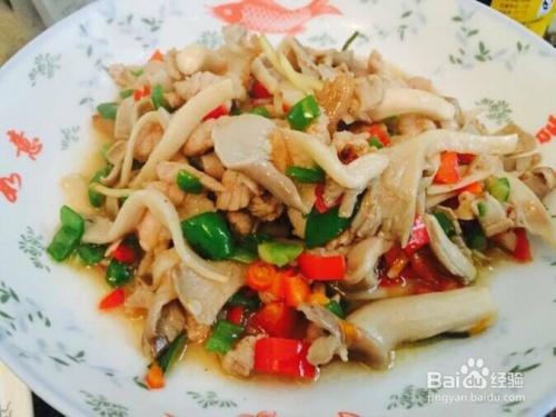 红豆薏米炒肉香辣平菇粉怎么做图片