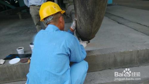 脱硫衬胶管道的修复方法