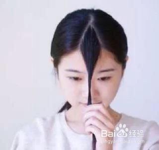 怎么打造韩式空气刘海图片