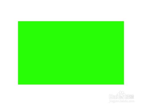 2 新建图层,利用矩形工具绘制长方形选区,填充绿色,颜色可以选择用图片