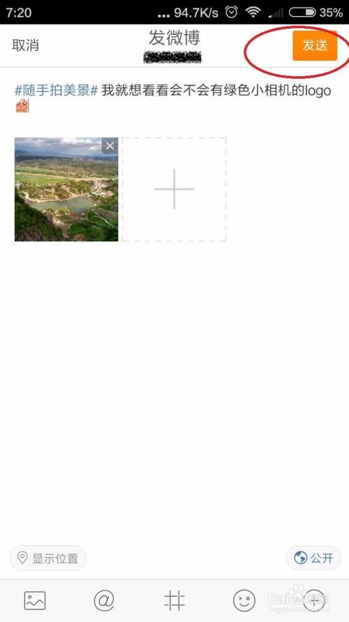 新浪微博名字后面的绿色小相机图标是怎么来的图片