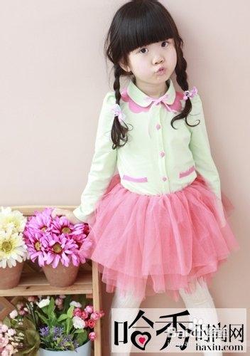 儿童发型图片 小女孩发型绑扎方法简单又可爱图片