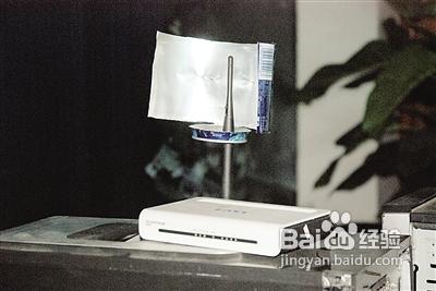 自制wifi信号放大器图片