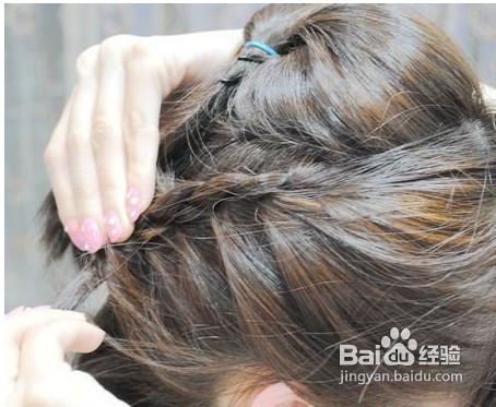短发如何扎头发好看图片
