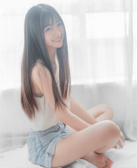 中长发空气刘海发型图片,空气刘海中长发韩式图片,空气刘海中发 - 七图片