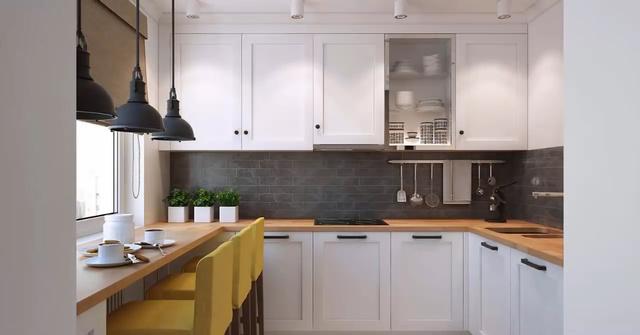 21款开放式厨房装修效果图,适合各种小户型图片