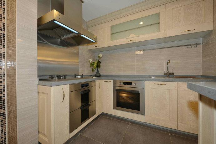 方太厨电开放性厨房装修设计效果图_方太厨电_太平洋家居网高清图库图片
