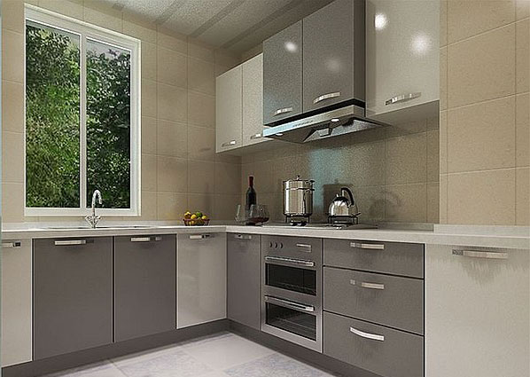 2013最新开放式厨房装修效果图作品欣赏图片