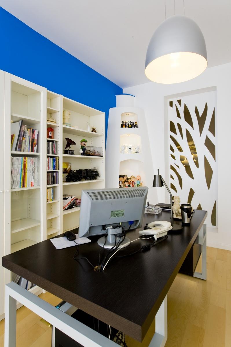 简约风格家装书房装修效果图大全2013图片 高清图片