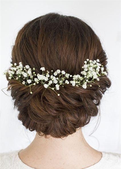 新娘造型 | 2017鲜花发型编起来,做春日最美新娘图片