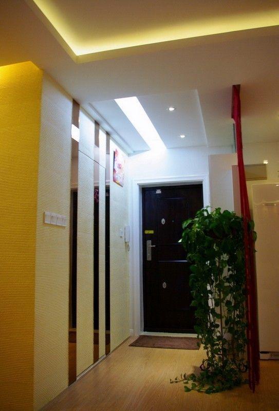 二居90平中式风格家庭卫生间淋浴房浴室柜装修效果图图片