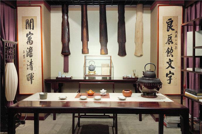 中式古韵小户型书房装修效果图_设计案例_太平洋家居网高清图库图片