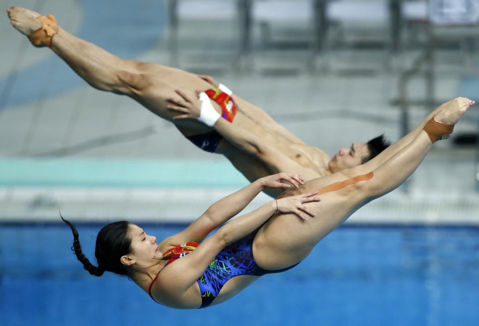 跳水系列赛第二日决赛